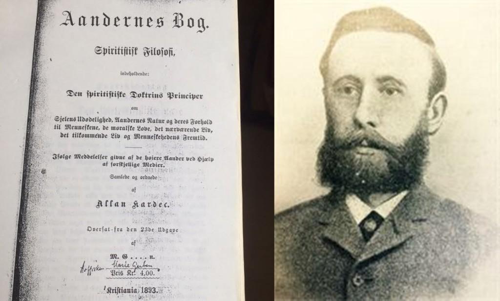 Den første Åndenes bok utgave i Norge og sin redaktør B. Torstenson.