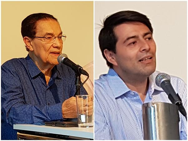 Divaldo Franco (venstre) og Juan Danilo Rodríguez (høyre)